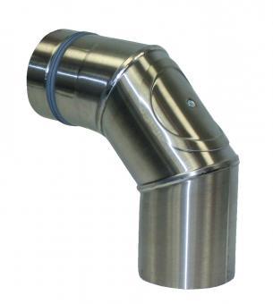 Ofenrohr 80 mm 90° Bogen mit Reinigungsverschluss