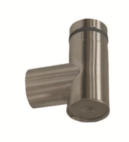 Ofenrohr 80 mm Anschluss-T-Stück mit Reinigungsdeckel